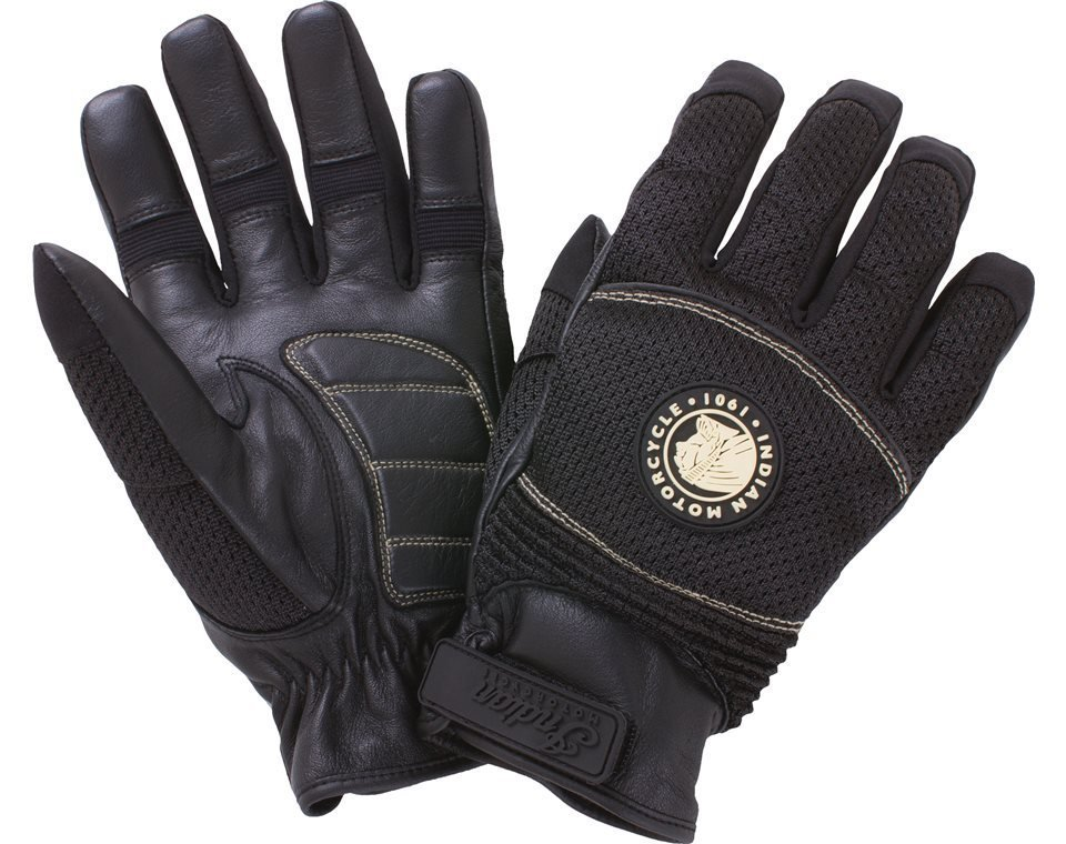 Women's Mesh Warm-Weather Riding Gloves, Black