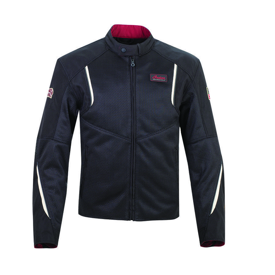 Men's Mesh Springfield 2 Riding Jacket with Removable Lining, Black