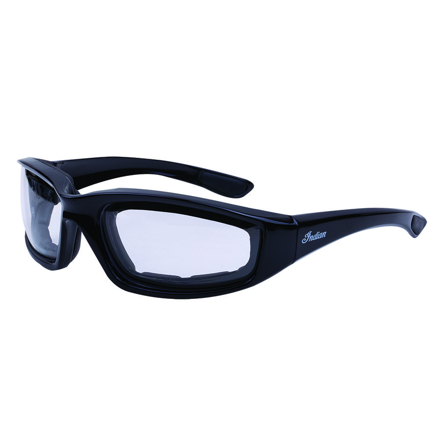 Riding Freeway Sunglasses with Clear Lens, Black