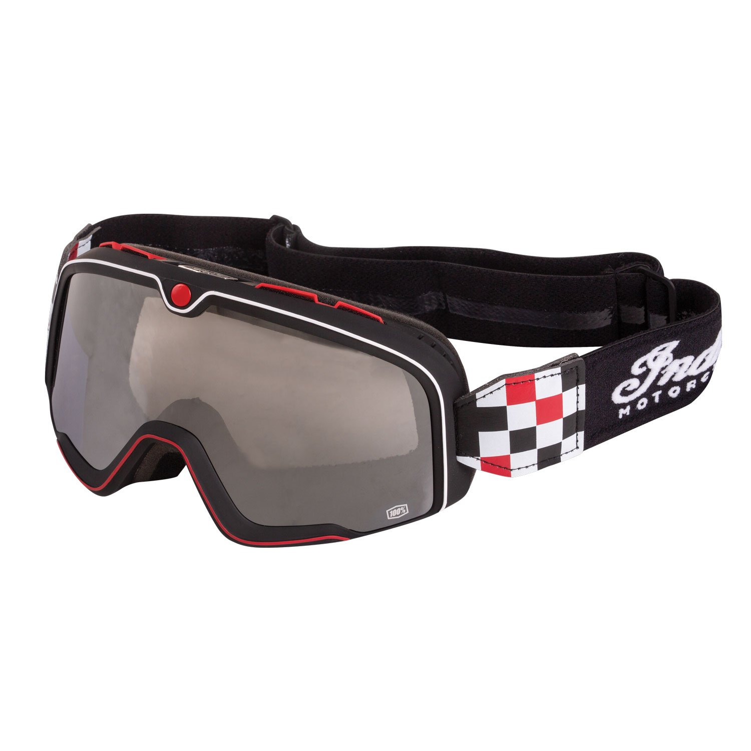 Coste Checkered Performance Goggle, Black