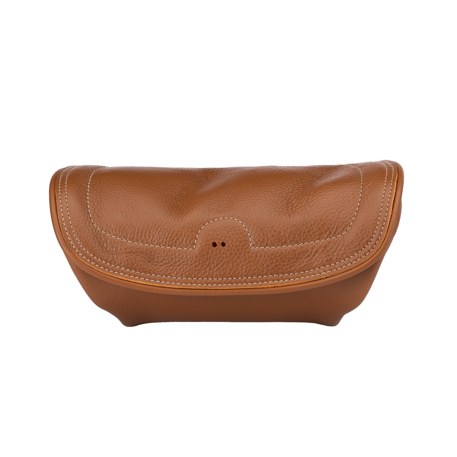 Genuine Leather Handlebar Bag – Desert Tan