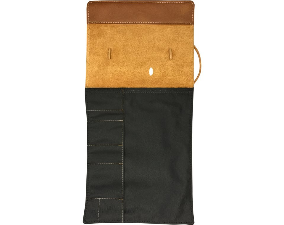 Genuine Leather Tool Roll Insert - Desert Tan