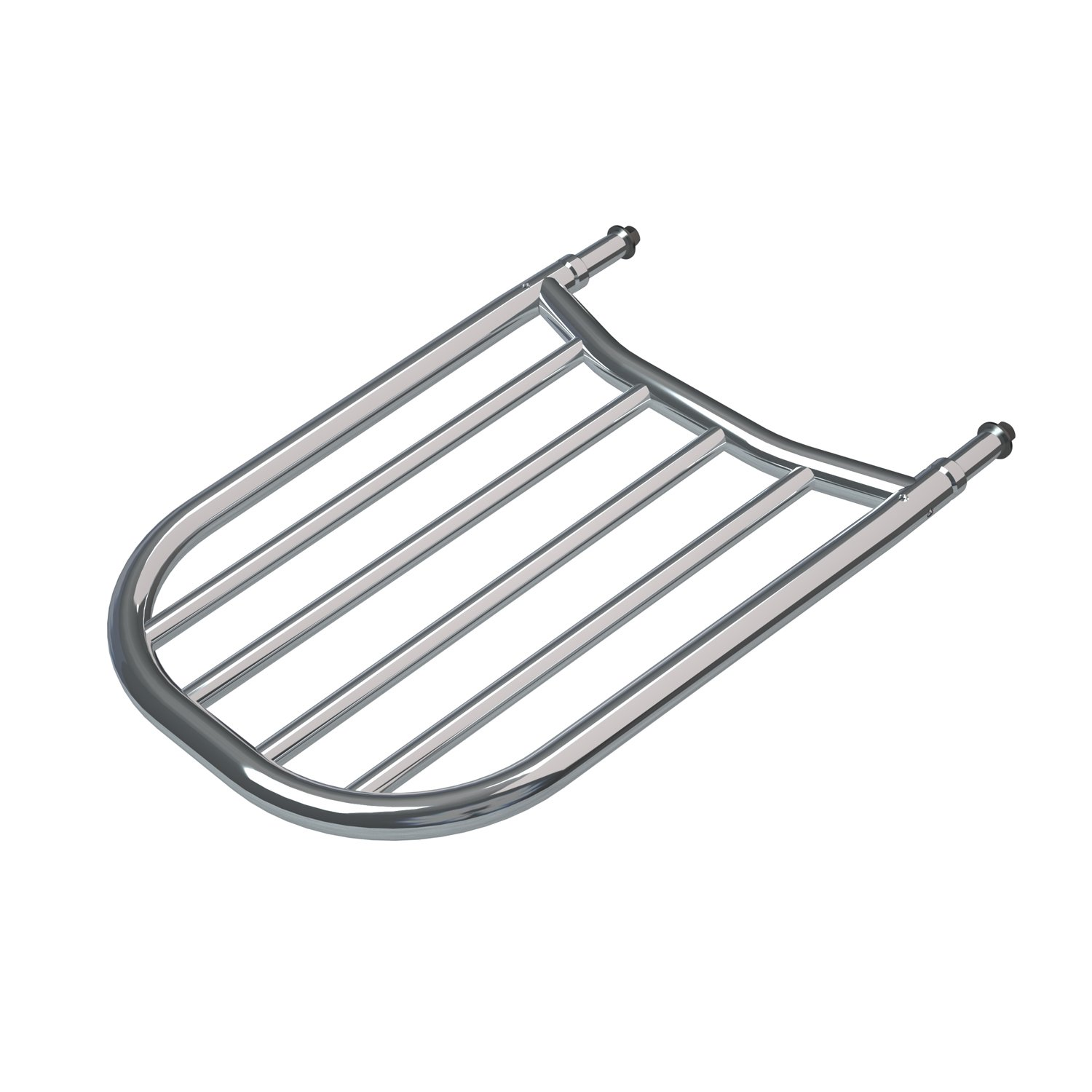 Sissy Bar Luggage Rack – Chrome