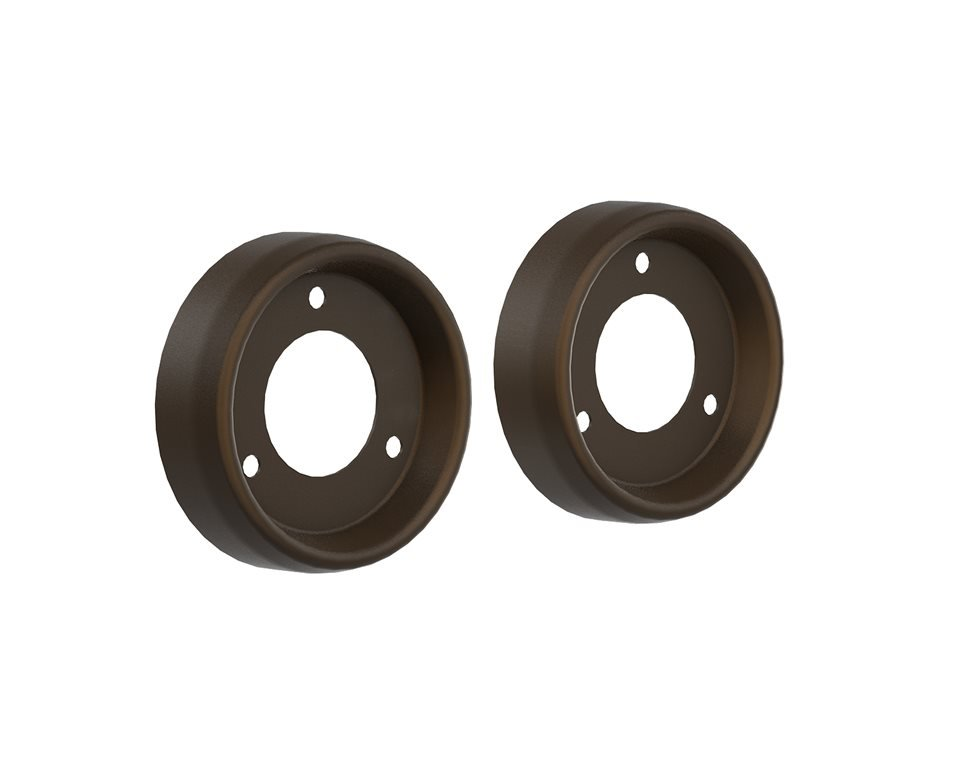 Exhaust End Caps – Bronze