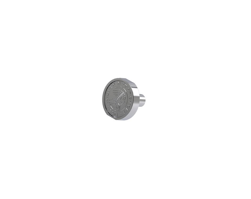 Rear Seat Bolt – Chrome