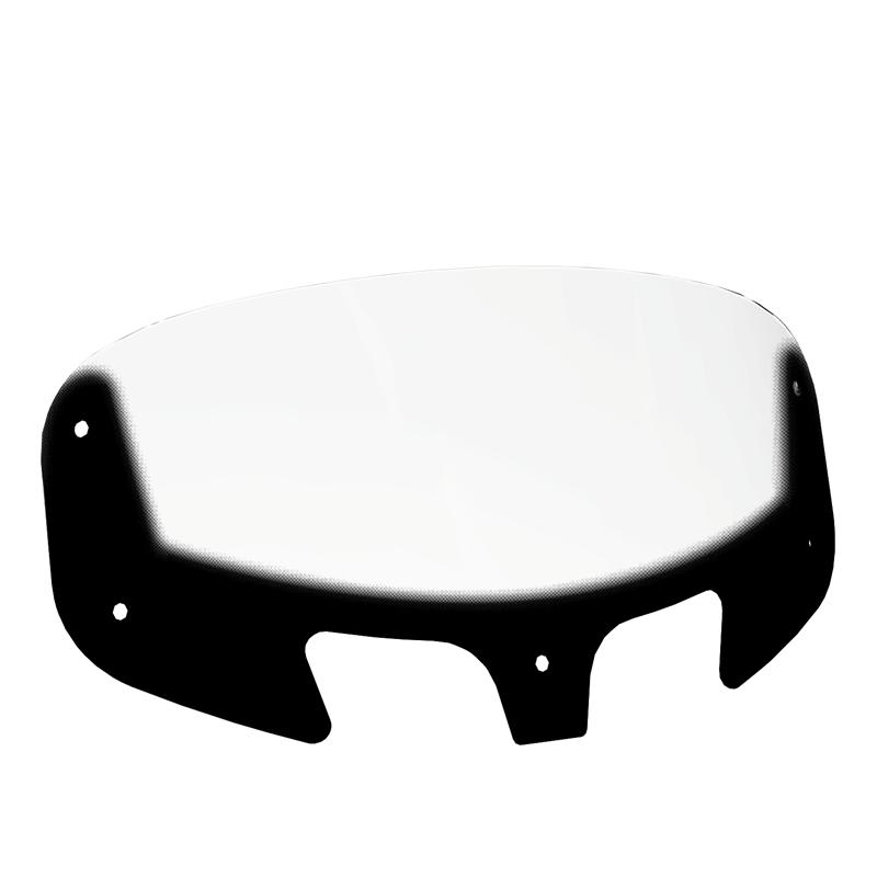 Polycarbonate Super Low Windscreen, Clear
