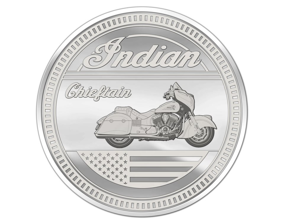 Commemorative Coin – Chieftain®