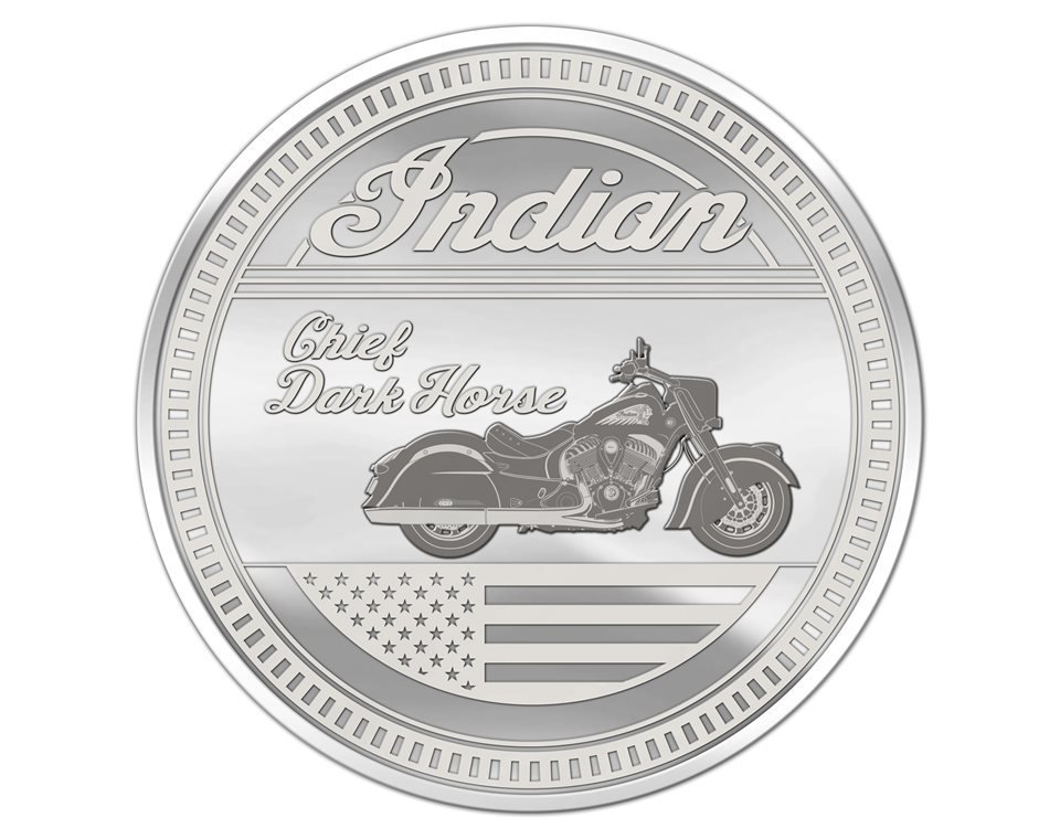 Commemorative Coin – Chief Dark Horse®