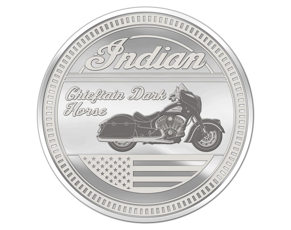 Commemorative Coin – Chieftain Dark Horse®