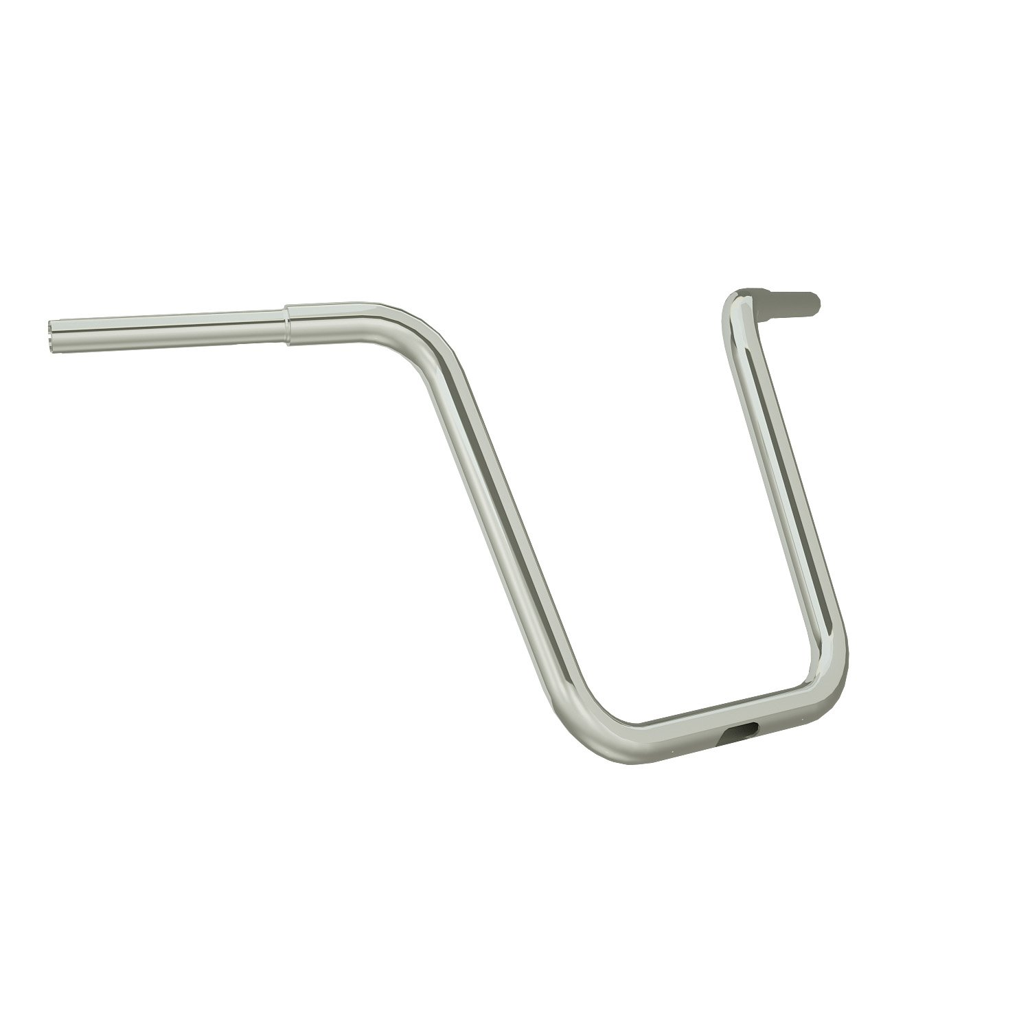 16″ Ape Hanger Handlebar Kit – Polished Stainless