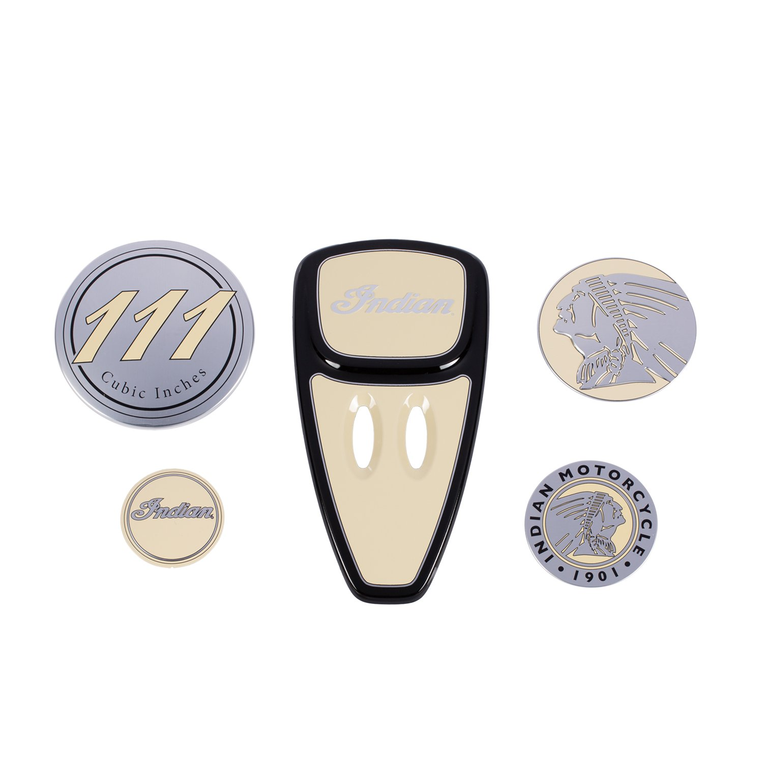 Touring Engine Cover Kit – Ivory Cream