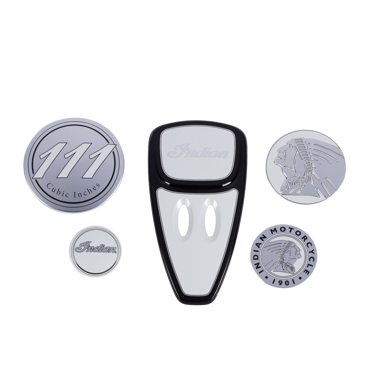 Touring Engine Cover Kit – Gloss Pearl White
