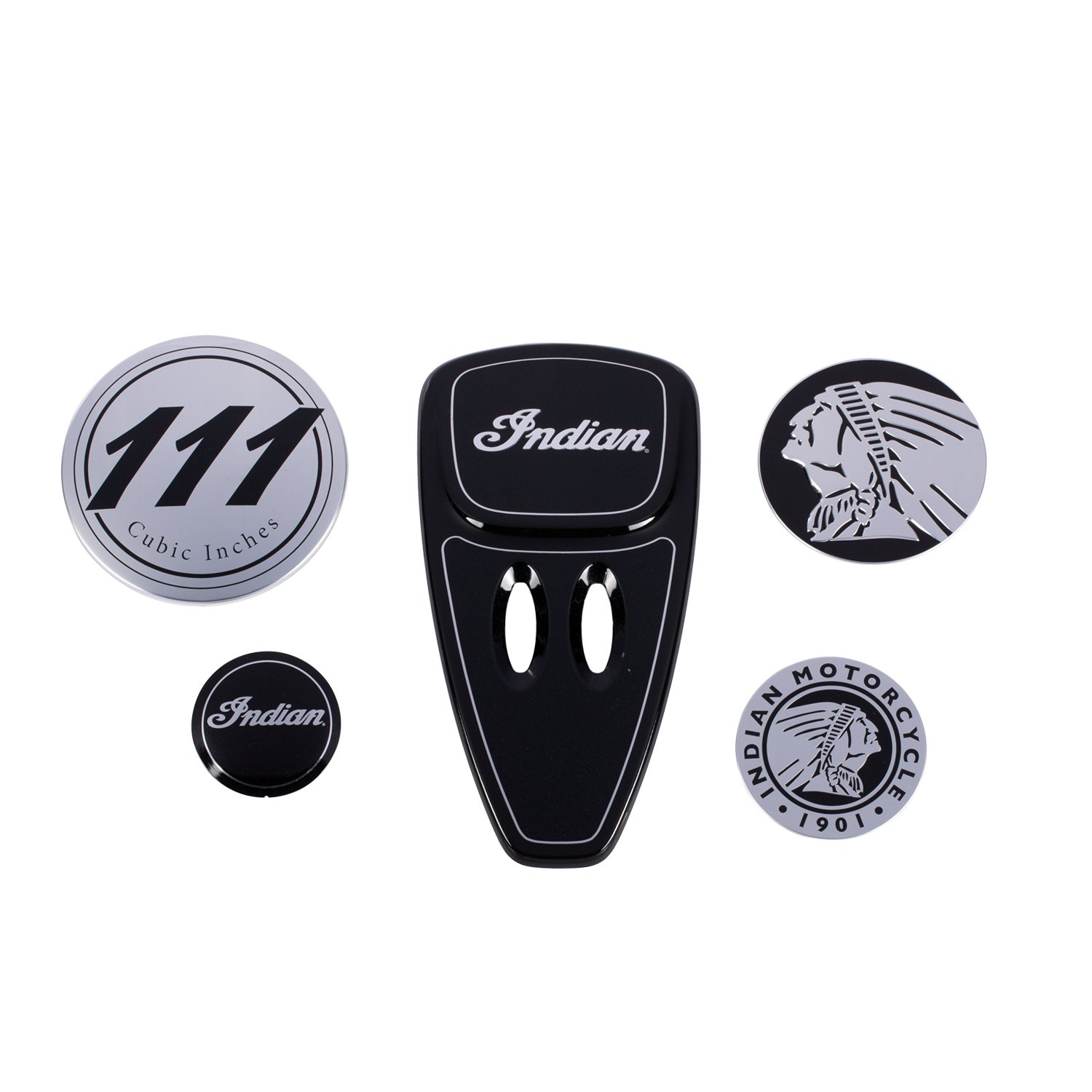 Touring Engine Cover Kit – Thunder Black Pearl