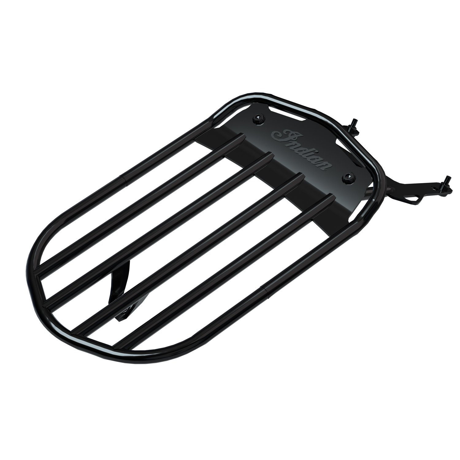 Pinnacle Solo Luggage Rack – Gloss Black