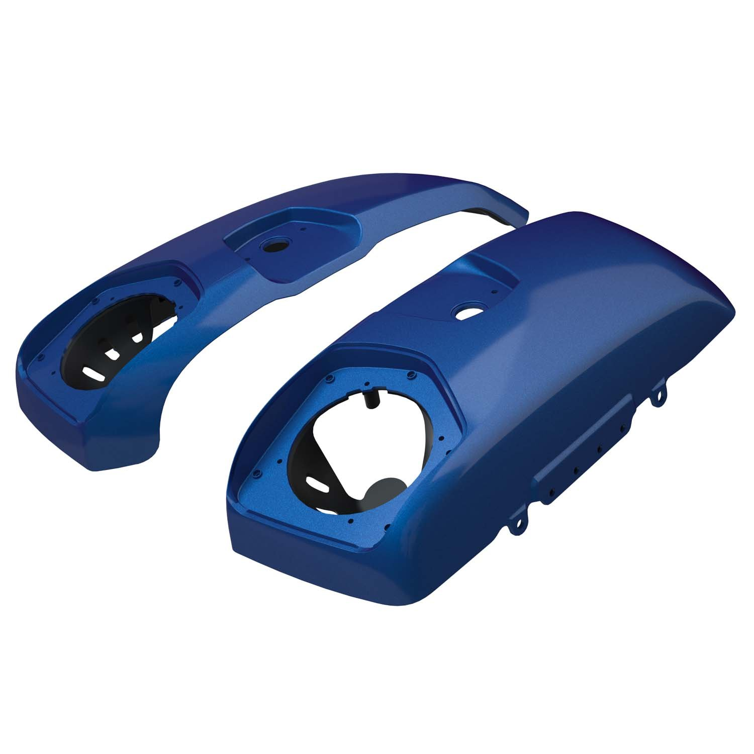 PowerBand™ Audio Saddlebag Speaker Lids – Brilliant Blue