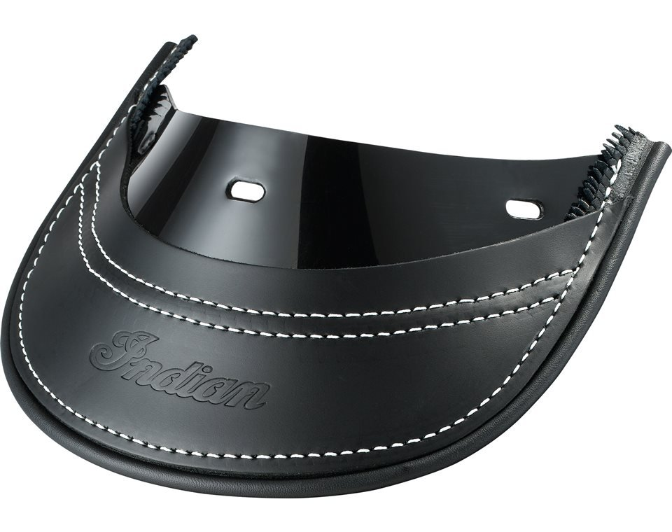 Genuine Leather Rear Mud Flap – Black