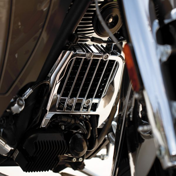 2880138-156 Indian Motorcycle Pinnacle Oil Cooler Cover Chrome