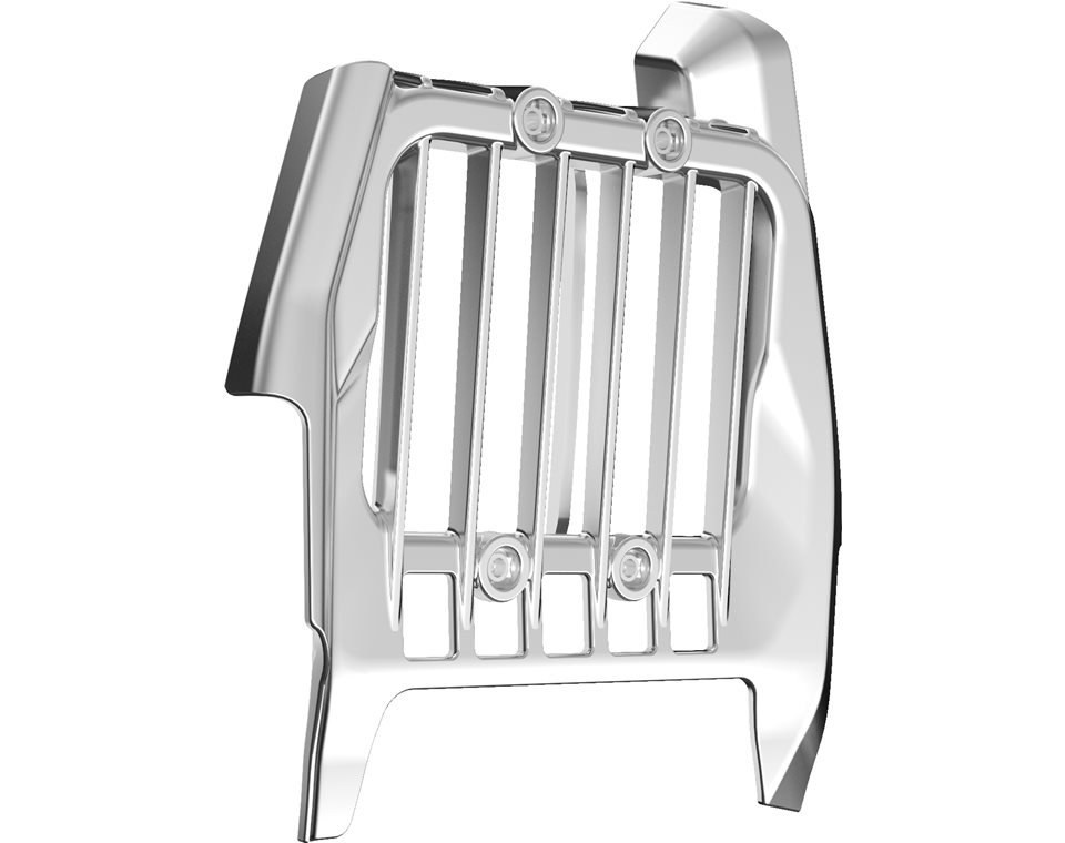 Pinnacle Oil Cooler Cover – Chrome