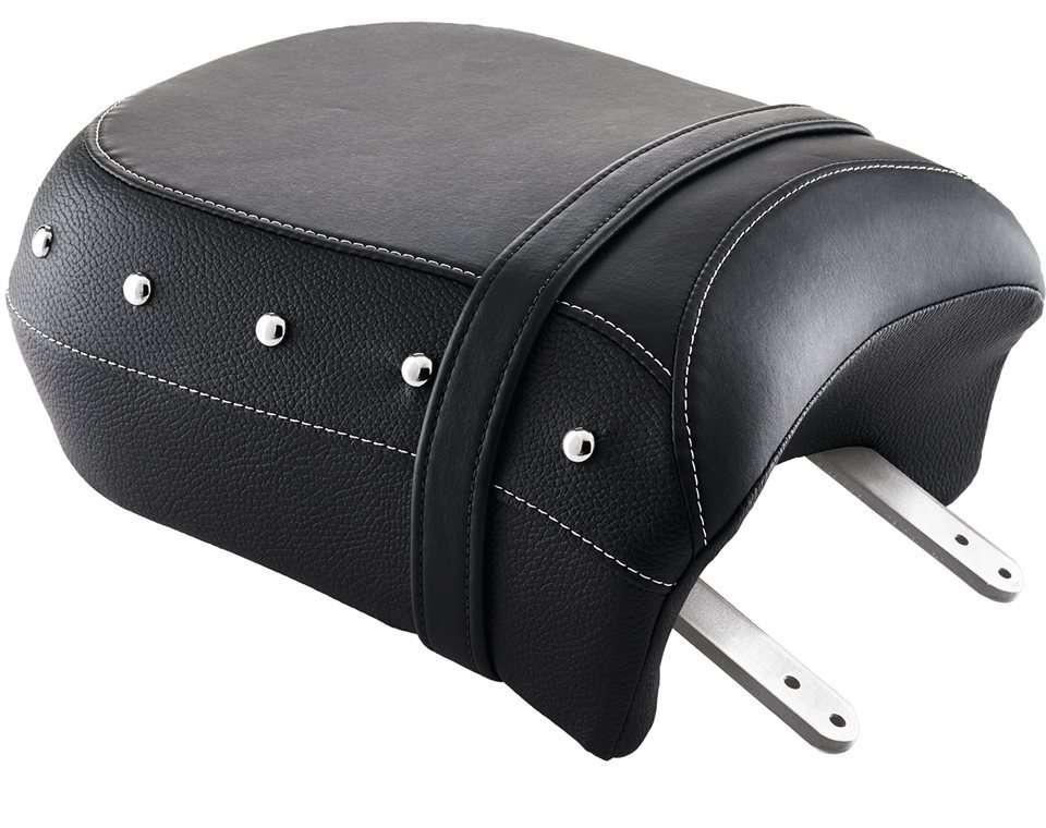 Genuine Leather Heated Passenger Seat – Black w/ Studs