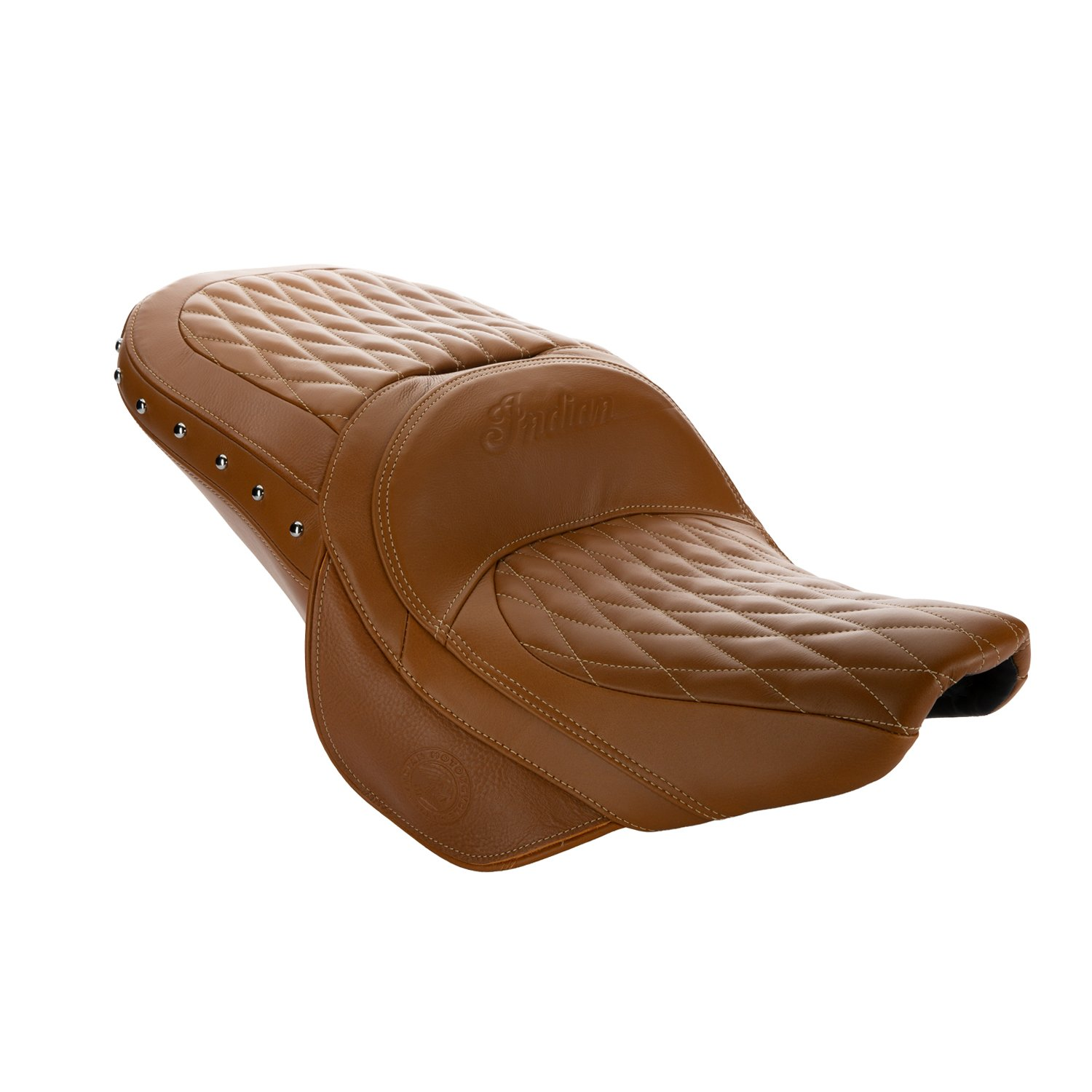 Genuine Leather Touring Heated Seat – Desert Tan