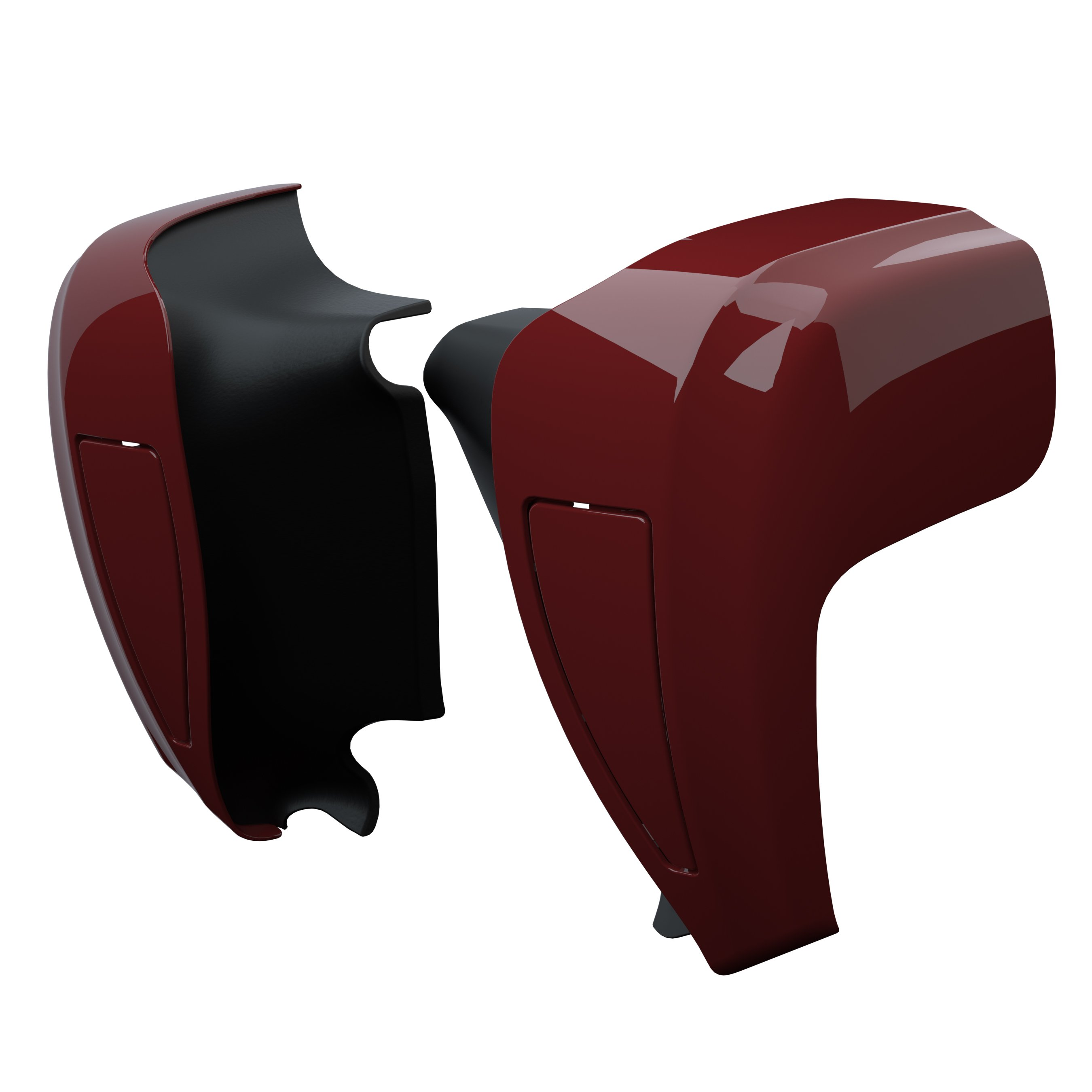 Hard Lower Fairings – Indian Motorcycle® Red