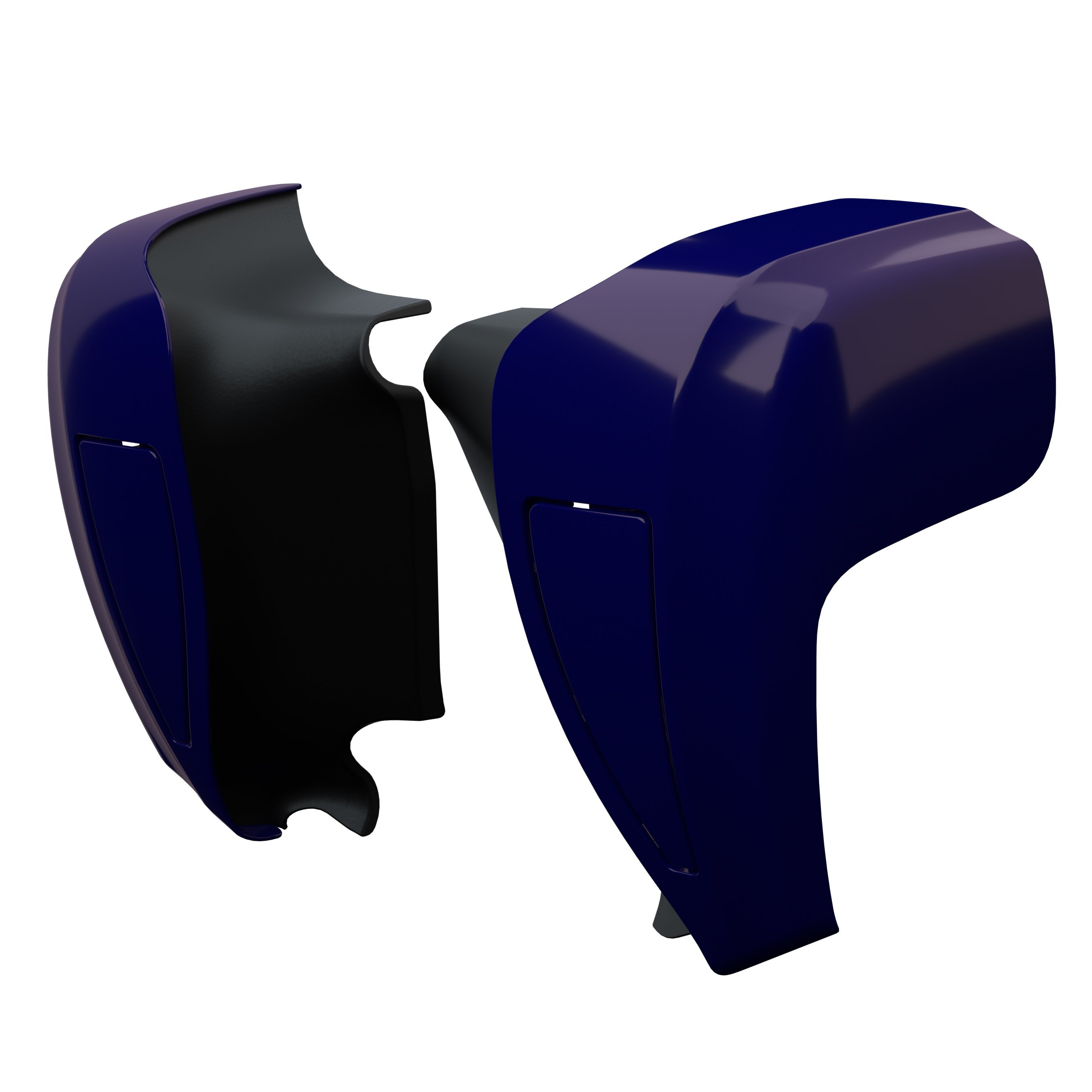 Hard Lower Fairings – Springfield Blue