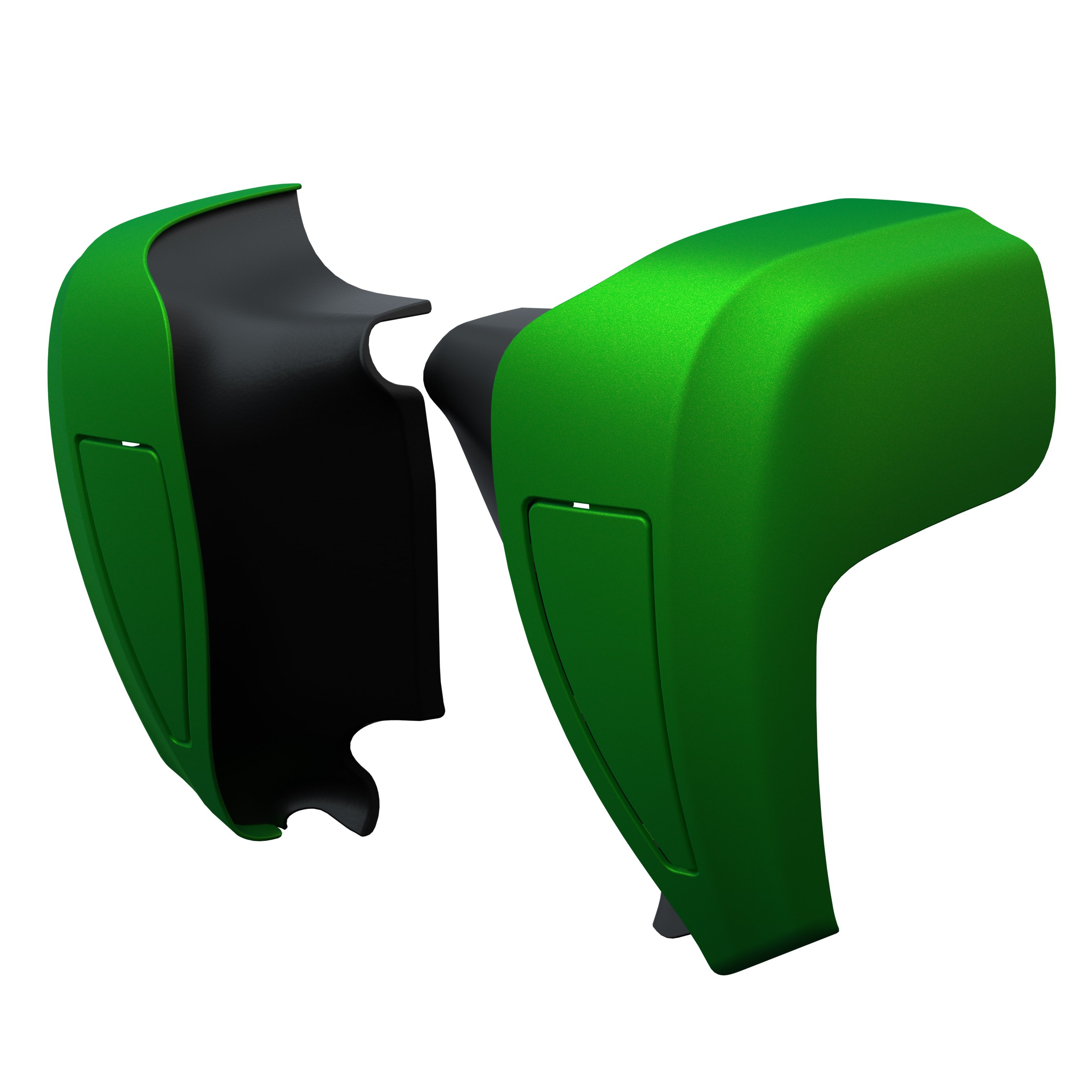 Hard Lower Fairings – Dragon Green