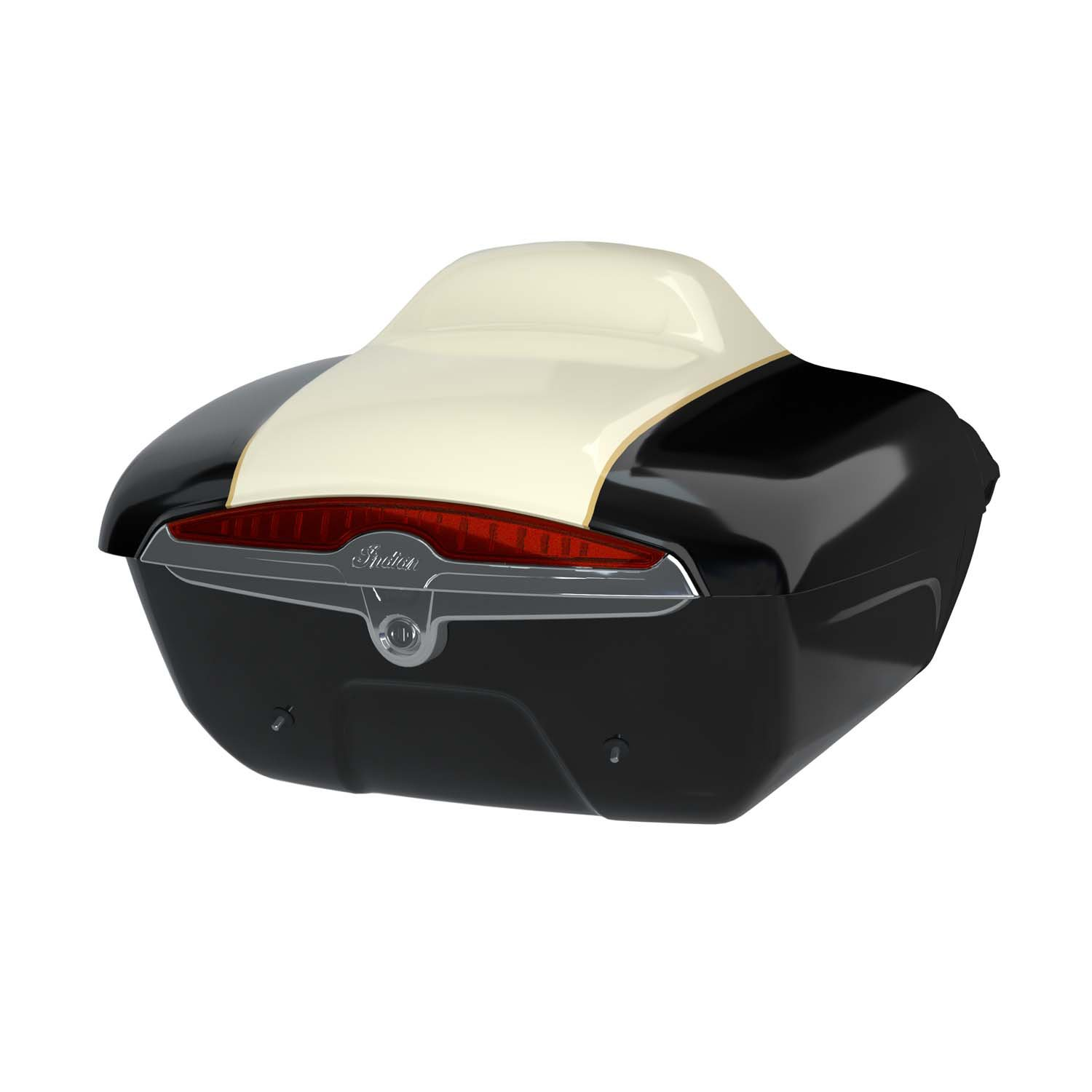 Quick Release Trunk – Thunder Black over Ivory Cream