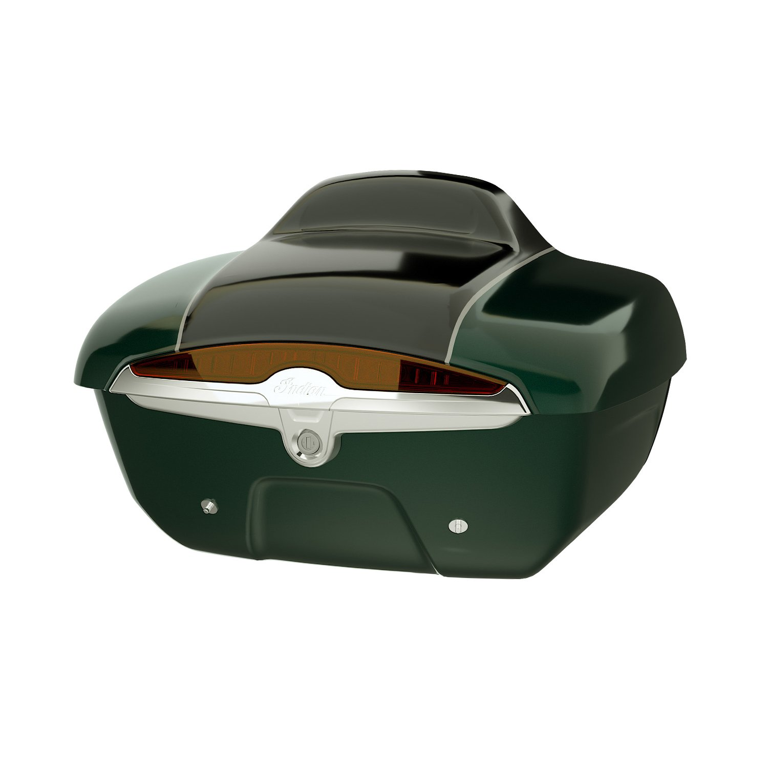 Quick Release Trunk – Metallic Jade Green over Thunder Black