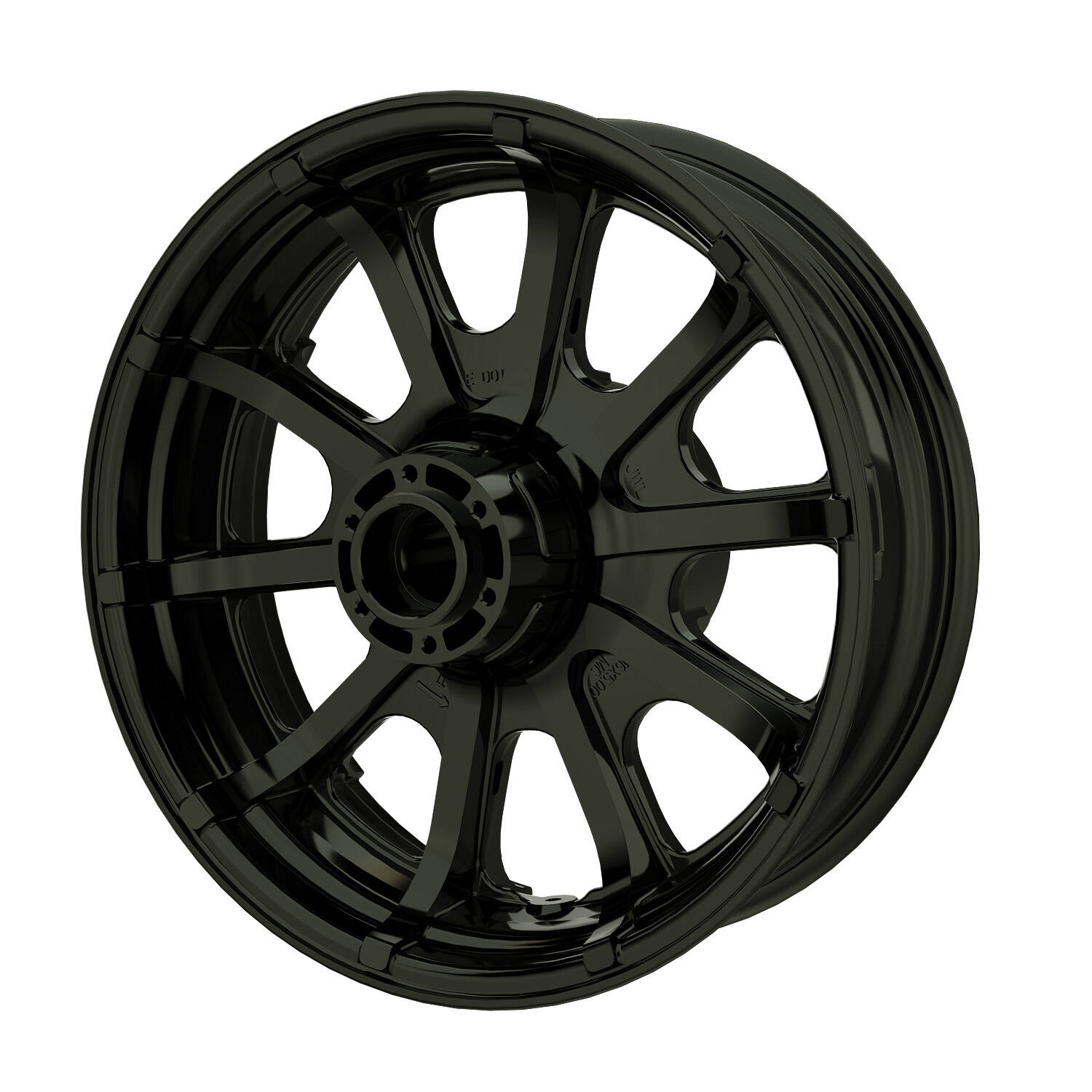 16″ 10-Spoke Rear Wheel – Black