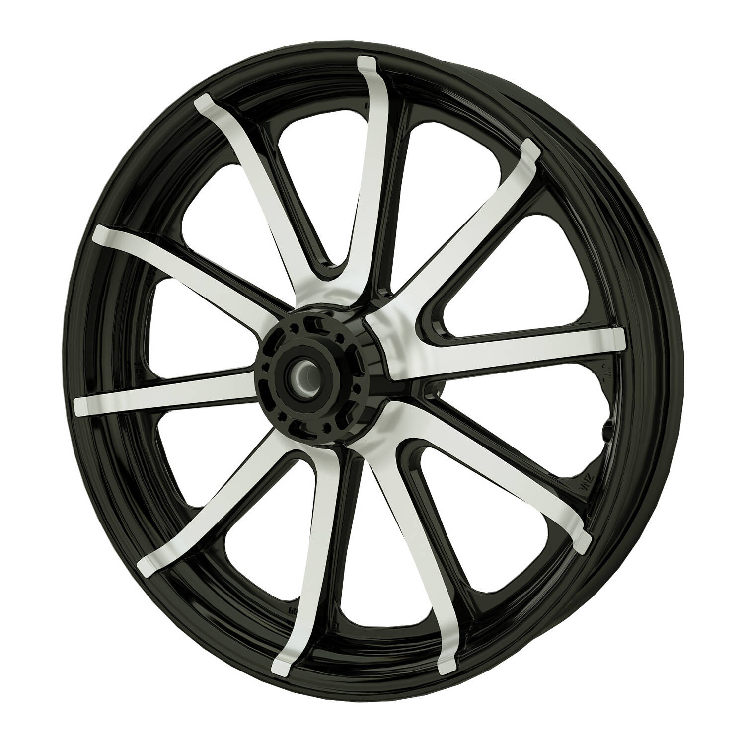 "19"" 10-Spoke Front Wheel – Contrast Cut (2018 and Newer)"