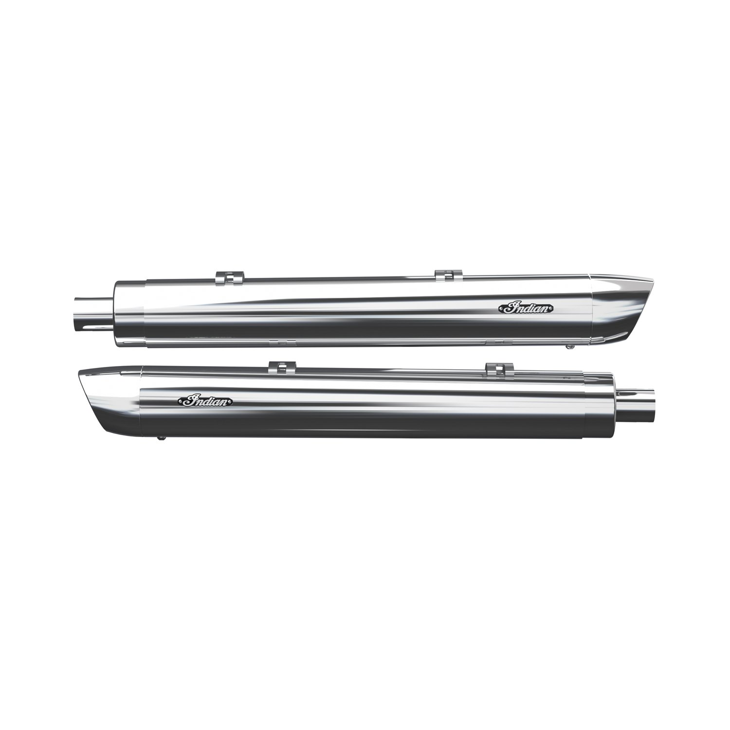 Stage 1 Oval Slip-On Muffler Kit – Chrome