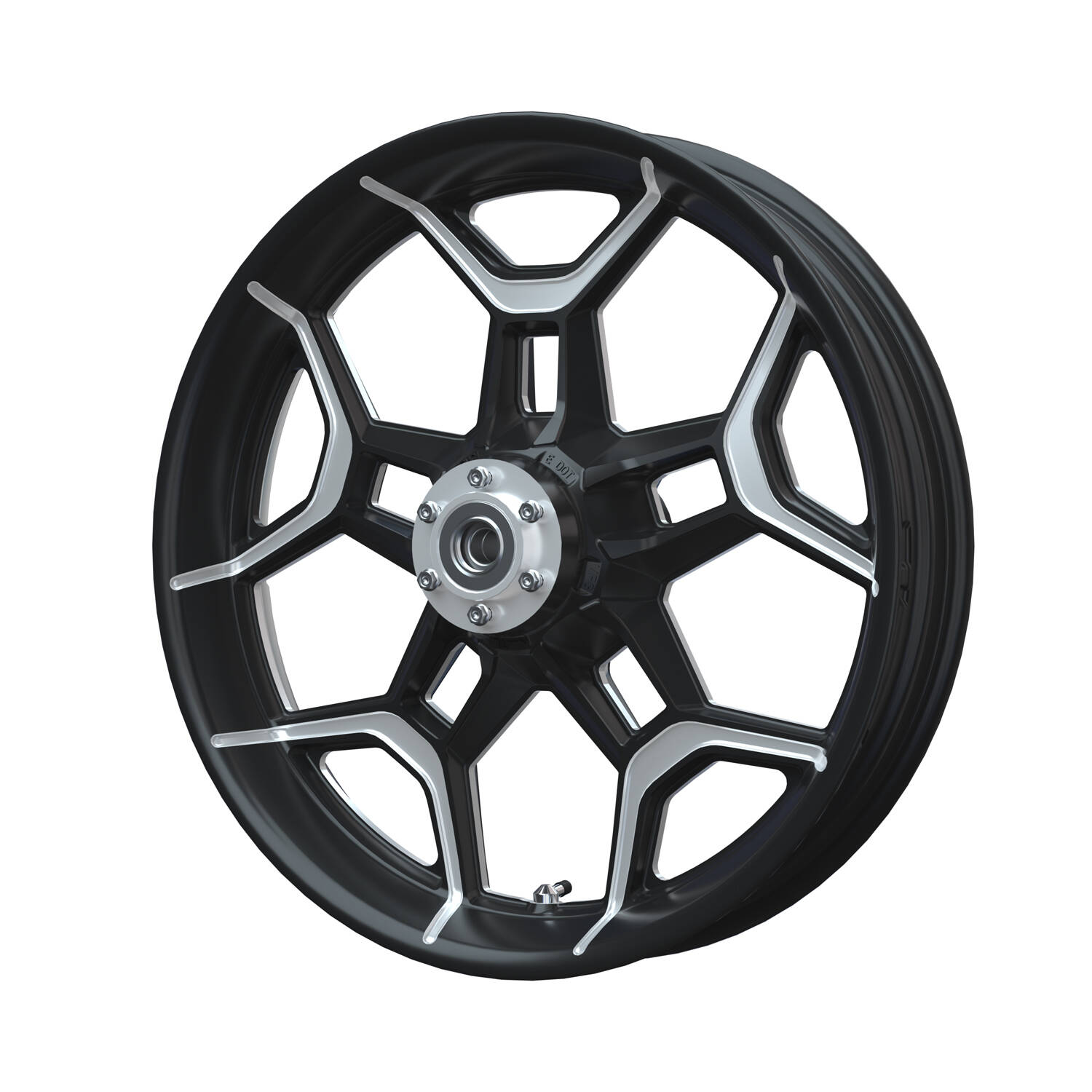 Precision Machined Front Wheel – Contrast Cut