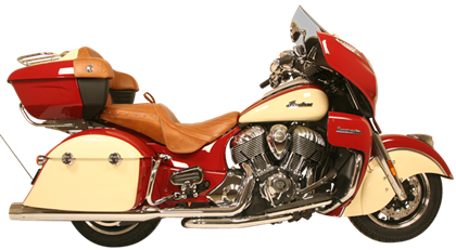 Rush Racing Products Full Exhaust System Package for Indian Motorcycle Touring Bikes in Chrome