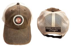 Indian Motorcycle Sturgis Wax Cloth Mesh Hat