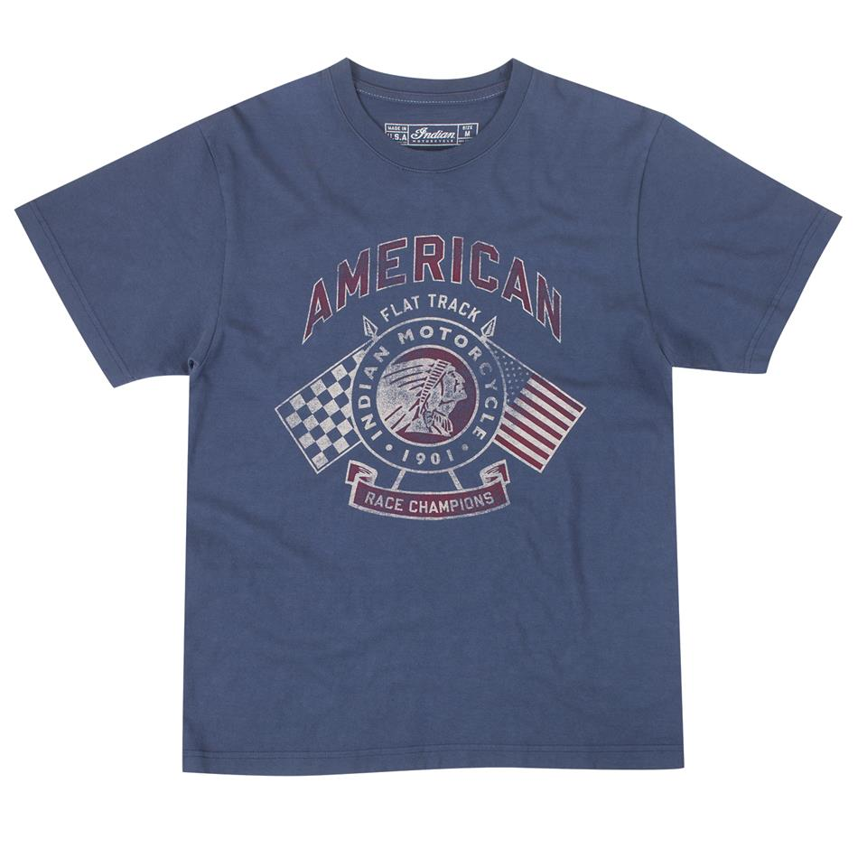 Men's IMC Flags T-Shirt, Navy
