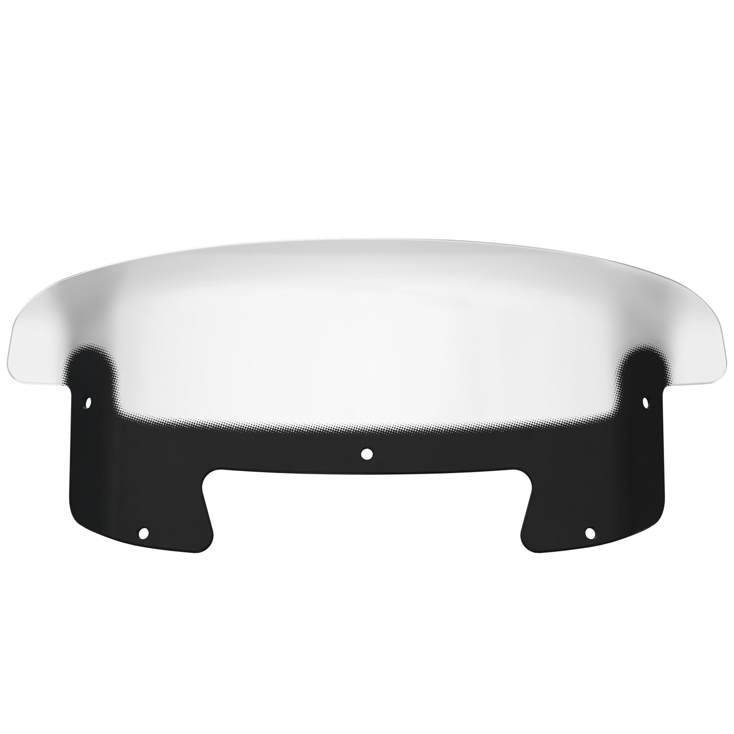 11 in. Curved Windshield – Tinted