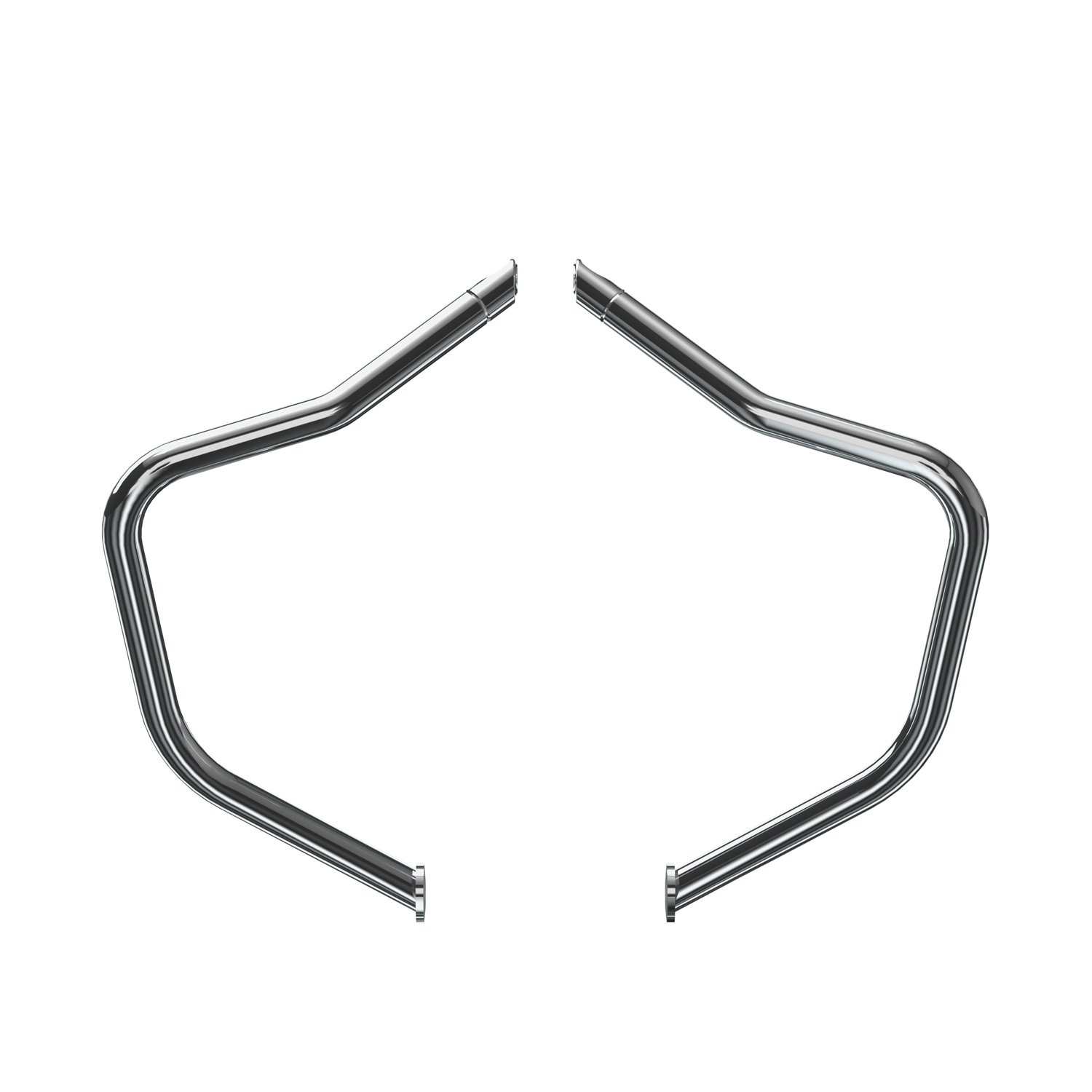 Front Highway Bars – Chrome