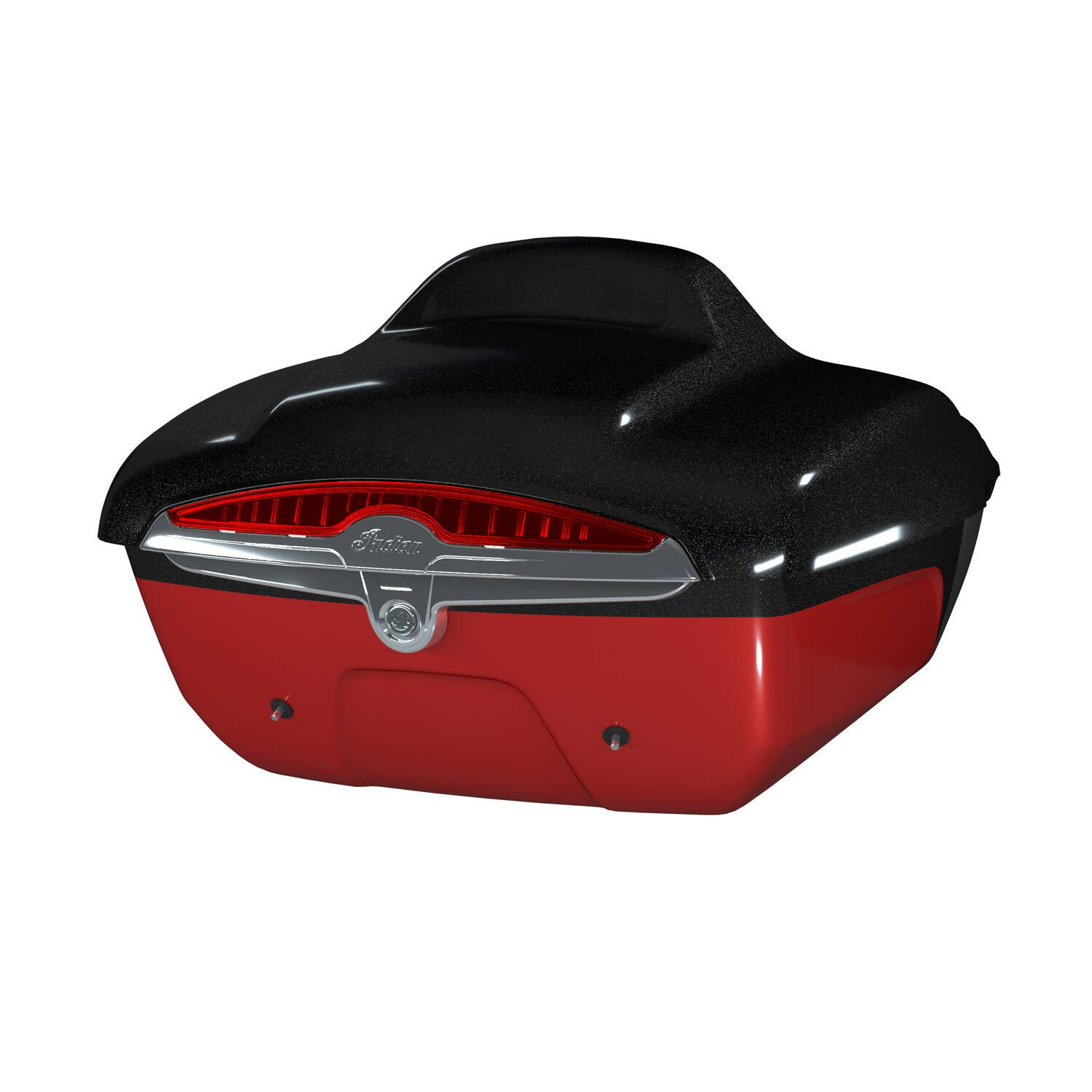 Quick Release Trunk – Thunder Black Vivid Crystal Over Wildfire Red Candy