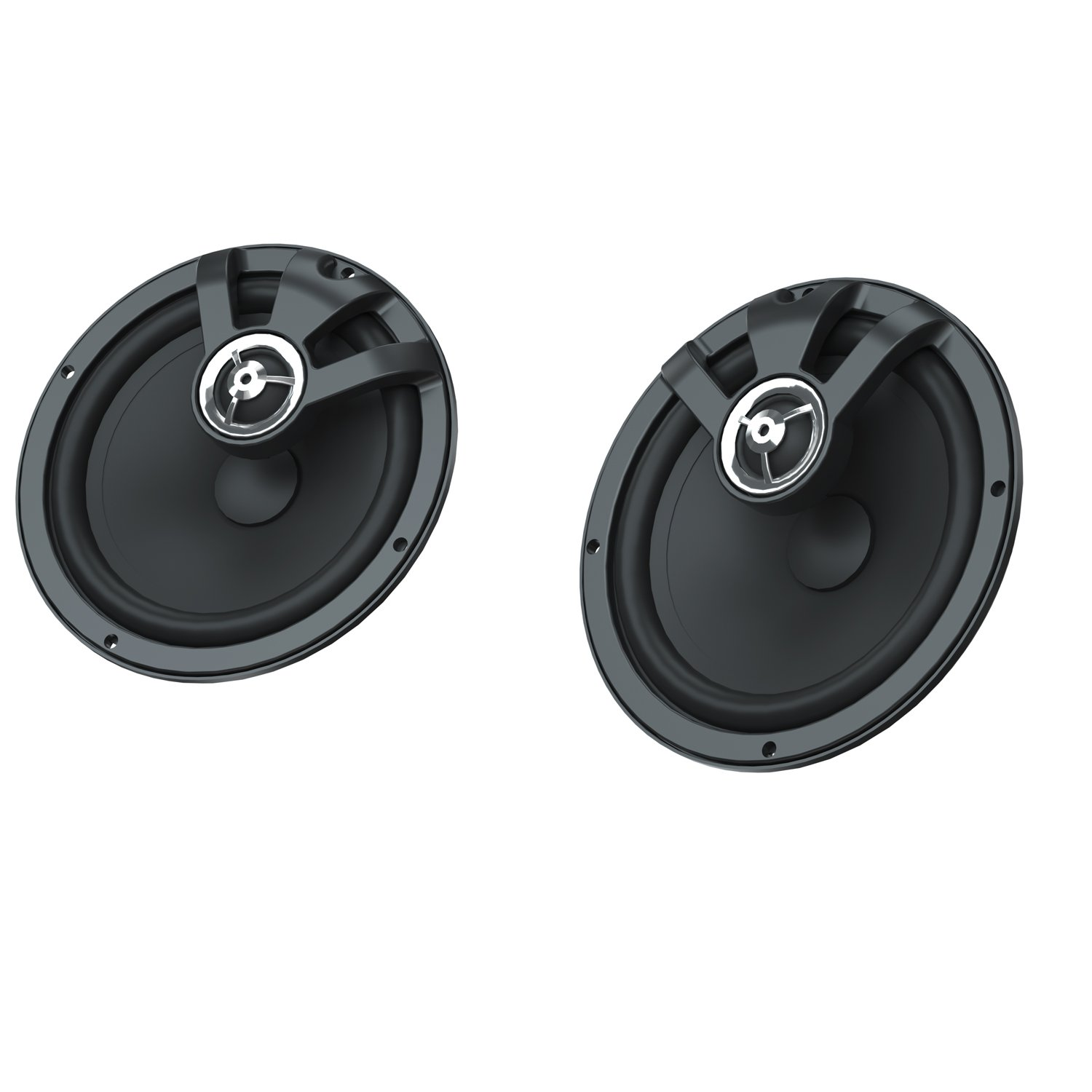 PowerBand Audio 6 1/2 in. Amplified Speaker Kit
