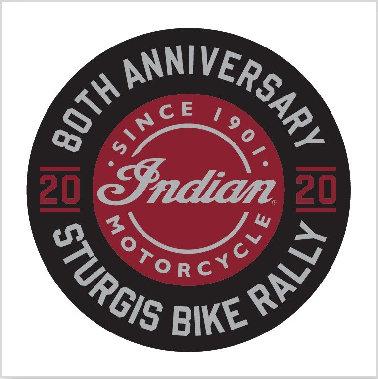 Indian Motorcycle Sturgis 80th 2020 Decal