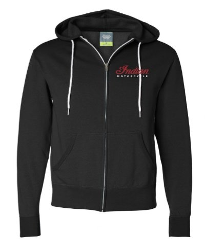 Indian Motorcycle Sturgis Zip-up Circle Icon Hoodie in Navy