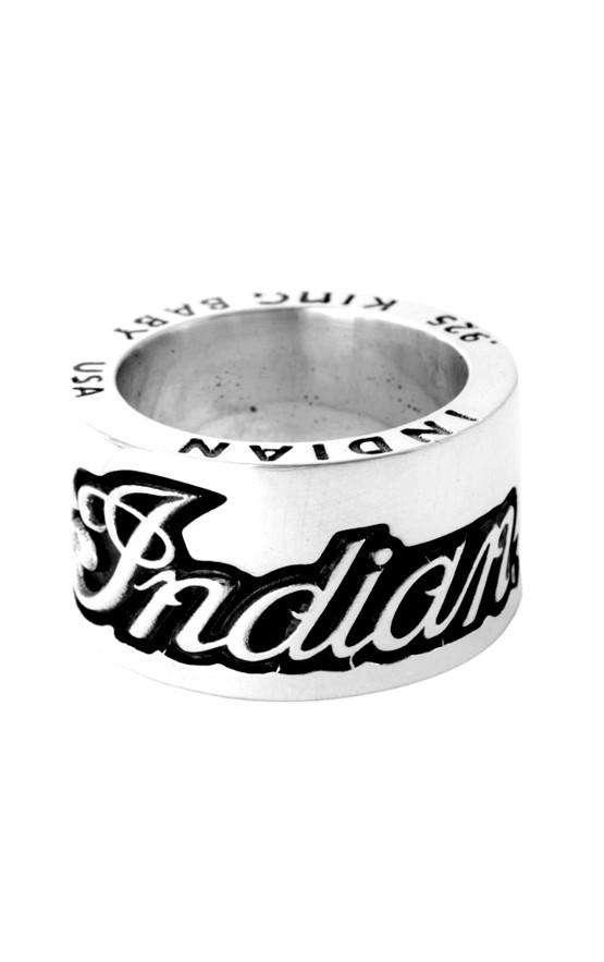 Indian Script Logo Ring