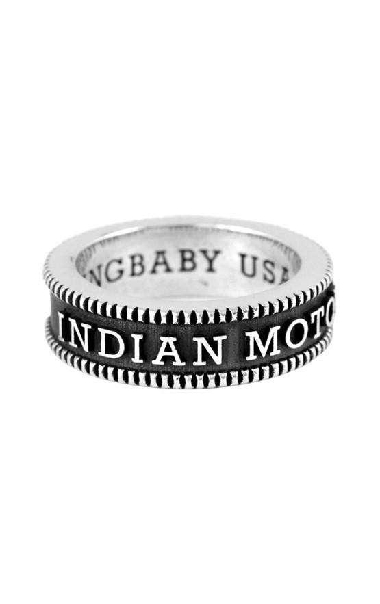 Indian Logo Vintage Coin Edge Band