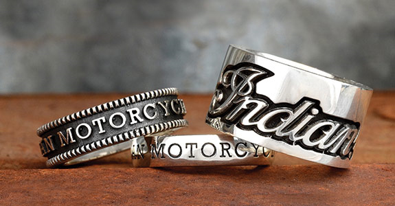 Indian Motorcycle Jewelry by King Baby