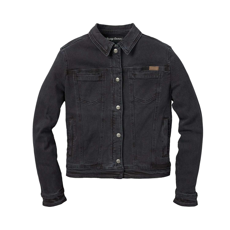 Women's Denim Lana Casual Jacket, Black