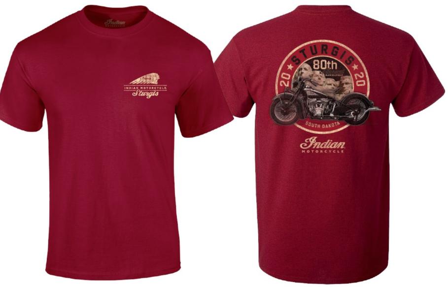 Indian Motorcycle Sturgis 80th Rally Rushmore Circle Shirt – Men's