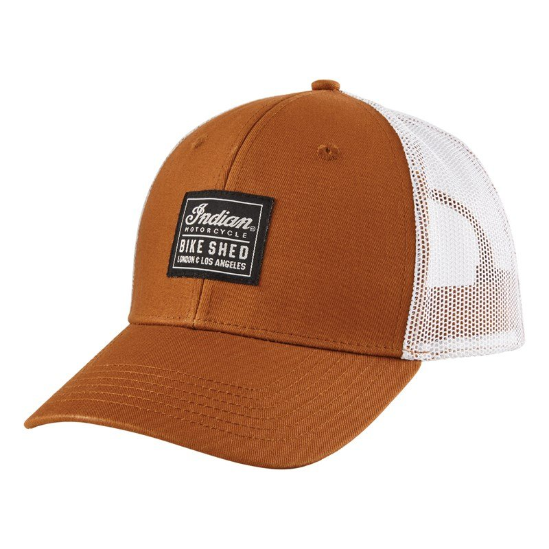 BSMC x Indian Motorcycle Patch Hat, Tan