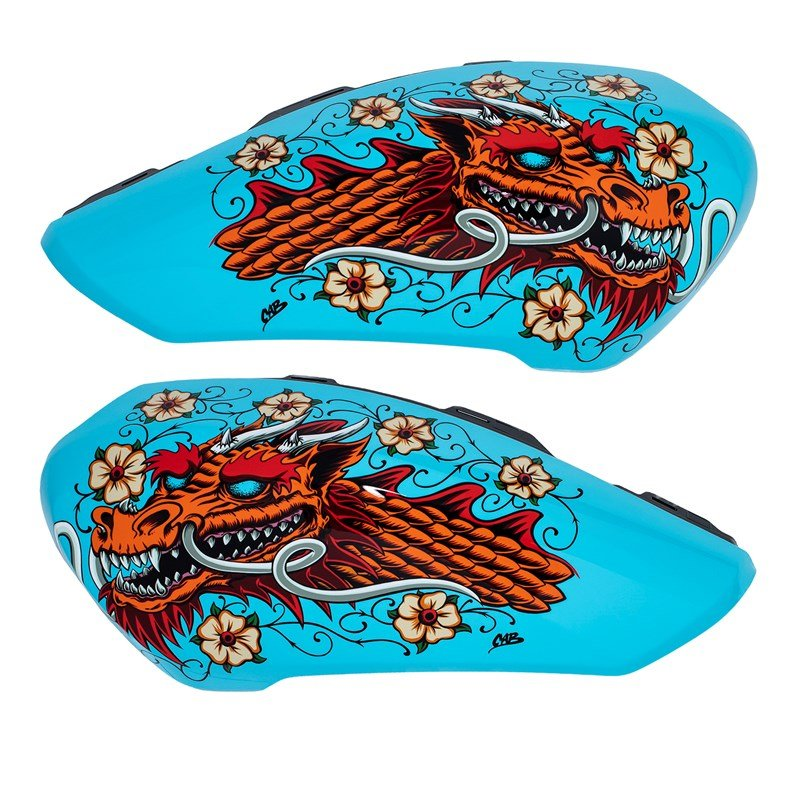 "Tank Covers by Steve Caballero, ""Cab Dragon"""