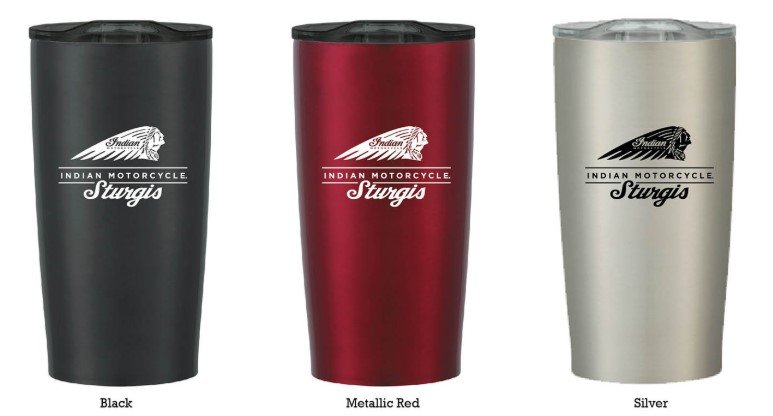 Indian Motorcycle Sturgis Travel Tumbler